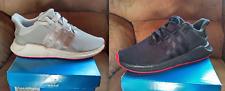 LOT de 2 paires adidas EQT 93/17  Noir Gris Rouge 42 2/3 8.5UK NEUVES