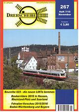 Drehscheibe Nov 2015, Issue 267 DB Deutsche Bahn
