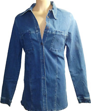 size 14 denim shirt maternity clothing wear
