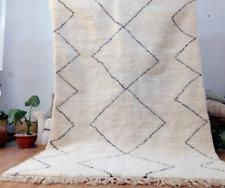 hand woven rug - Wool Berber carpet Handmade