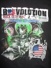 2016 REVOLUTION Concert (MED) T-Shirt SLAYER AVENGED SEVENFOLD VOLBEAT ANTHRAX
