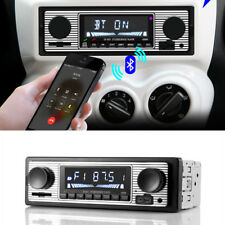 Car Wireless Bluetooth Hands-free Stereo Radio FM MP3 USB Audio Player Receiver
