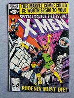 Uncanny X-Men #137 FN/VF 7 (1980) Marvel Comics Death of Phoenix John Byrne