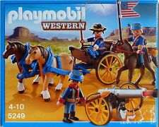 Playmobil Western Kavalleriewagen mit Kanone 5249 Neu & OVP Nordstaatler