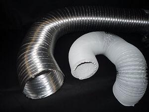 Abluftschlauch PVC/Alu Ø 100/125/150mm für Klimaanlagen, oder mobile Klimageräte
