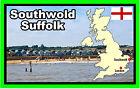 Southwold, Suffolk - RECUERDO ORIGINAL Imán de NEVERA - NUEVO - Regalo