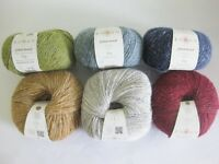 Rowan Felted Tweed DK 50g VARIOUS SHADES 50% Merino 25% alpaca 25% viscose