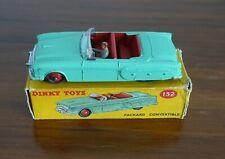 Original Dinky No 132 Packard Convertible - Boxed & Beautiful!