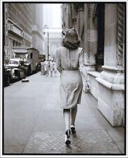 Stanley Kubrick. Woman in Polka dot dress, New Yok, 1946. Tirage prepress