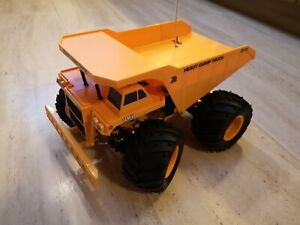 Tamiya Heavy Dump Truck RC Car unused, assembled so you don't have to!