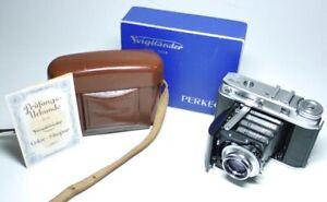 Voigtländer PERKEO E mit Color-Skopar 3,5/80  An-Verkauf!   ff-shop24