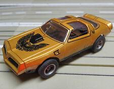 Faller Aurora Lichtfahrzeug -- Pontiac Firebird mit AFX Motor, + neue Reifen