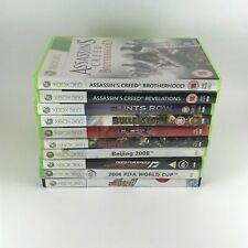 x10 Microsoft Xbox 360 Games - (Bundle / Job Lot) - Assassins Creed Saints Row