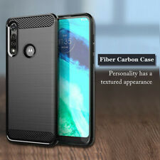 For Motorola Moto G Fast,One 5G Ace,G Stylus,Carbon Fiber Texture TPU Cover Case