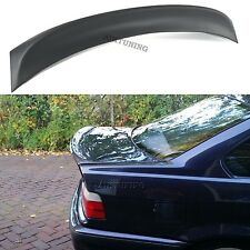 BMW E36 CSL Rear Boot Lid Trunk Spoiler Ducktail Wing Lip Addon 4 Door Sedan