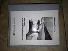 Training manual for Charmilles 1000 series Sinker Edm machines