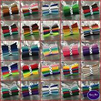 Wool Mix felt craft pack ^ Ten 10cm x10cm sheets ^ Choice of 20 Colour Themes