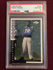 Randy Moss 1998 Score Rookie Card RC PSA 10 Gem Mt