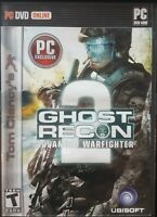 Tom Clancy's Ghost Recon: Advanced Warfighter 2 (PC DVD-ROM, 2007)