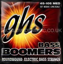 GHS M3045 Boomers Medium Gauge Long Scale Bass Guitar Strings 45 - 105