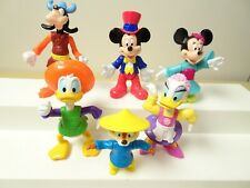 """New listing Disney 3"""" Epcot Center Mickey Minnie Mouse Donald Daisy Chip figurine toy lot"""