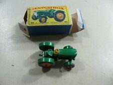 866| Matchbox Nr 50 traktor grün - in OVP