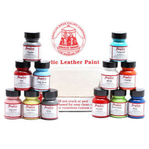 Angelus Acrylic Leather Paint for Sneakers Shoes Bags 1oz/4oz