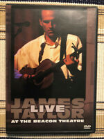 JAMES TAYLOR Live at the Beacon Theatre (DVD, 1998), Fast Free Shipping