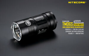 Nitecore TM06S 4X Cree XM-L2 U3 LEDs 4000 Lumens 359 meter Flashlight Torch