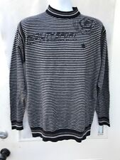 Japanese Designer Southwardbao Sport Sweater Gray Stripes Size 115 Japanese