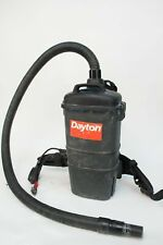 Dayton 4TR09A Dry Pick-Up Back Pack Vacuum 4TR09