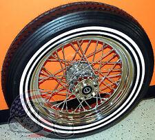 Chrome 16 X 3 40 Spoke Rear Wheel Shinko Double WW Tire Mounted Package XL FXST