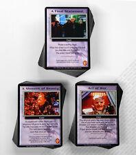 Babylon 5 CCG Shadows Complete Set of 203 Cards 100 Rare M/NM Mint/Near Mint