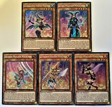 YuGiOh 5 Card Fruit Magician Girl Set Secret Rare 1st Edition German