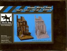 Blackdog Models 1/35 AFRICAN HOUSE Resin Display Base