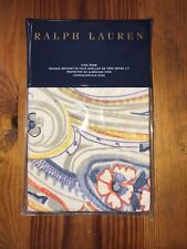 NWT $145 Ralph Lauren Rue Vaneau Travis Paisley Cream King Pillow Sham