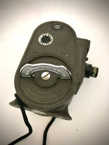 Vintage Bell & Howell Filmo 8mm Movie Camera in Leather Case