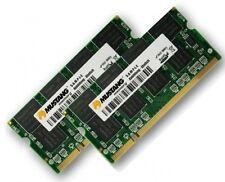 2x 1gb 2gb ddr2 533mhz per Notebook Toshiba Tecra m7 s3 memoria RAM SO-DIMM