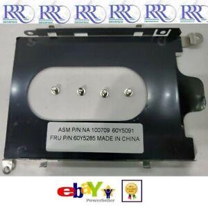 Lenovo ThinkPad Hard Drive Caddy Tray Sled FRU 60Y5285 for x100e x120e 4 screws