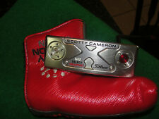 """scotty cameron m2 select newport  titleist 34""""  putter w/ sc cover"""