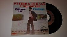 RARE 45 tours PETROUS TUKANE AND THE MOVERS  believe her RCA AFRICANA 9279