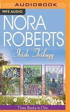 Nora Roberts Irish Trilogy read by Patricia Daniels 3 Unabridged MP3 AudioBooks