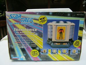 Star Trek The Next Generation Transporter, 1993, Playmates, NIB