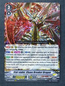 Star-Vader Chaos Breaker Dragon V-SS07 RRR - Vanguard Cards #8M