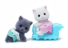 Sylvanian Families Calico Critters Persian Cat Baby Twins