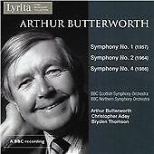 Arthur Butterworth Symphonies Nos. 1, 2 & 4, BBC Scottish Symphony Orchestra, CD