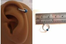 Ear Cuff Fake Helix Cartilage Piercing Jewelry Ear Hoop Single Ball Titanium