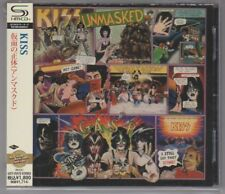 "CD KISS Unmasked JAPAN SHMCD complete with OBI ""Back to the rock years"" series"