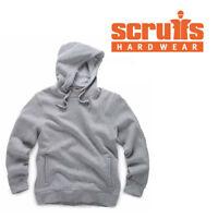 SCRUFFS Worker GREY HOODIE Warm Mens Work Top Hoody Marl S-XXL Vat Receipt