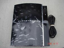 Sony PlayStation 3 60GB Piano Black PLAYS PS3 PS2 SACD CECHA01 3.55 OFW #1